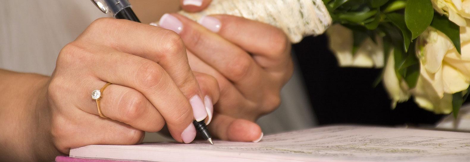 come organizzare un matrimonio solo rito civile