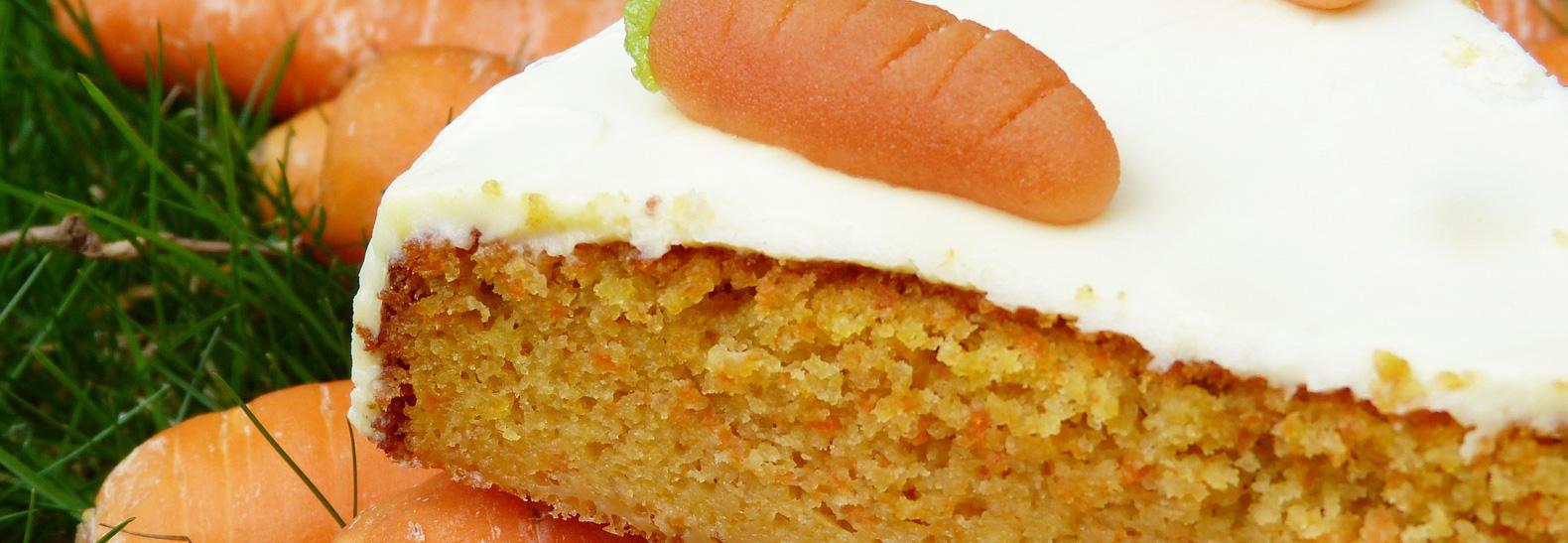 torta vegana carote