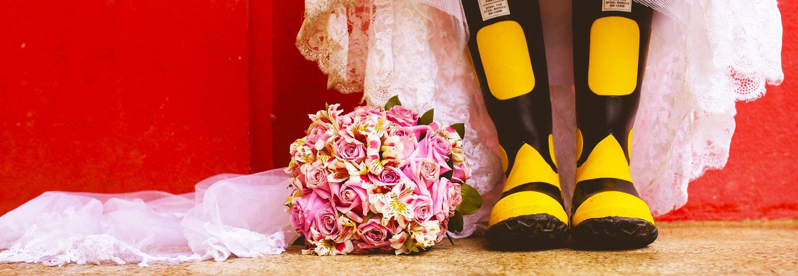stivali della sposa
